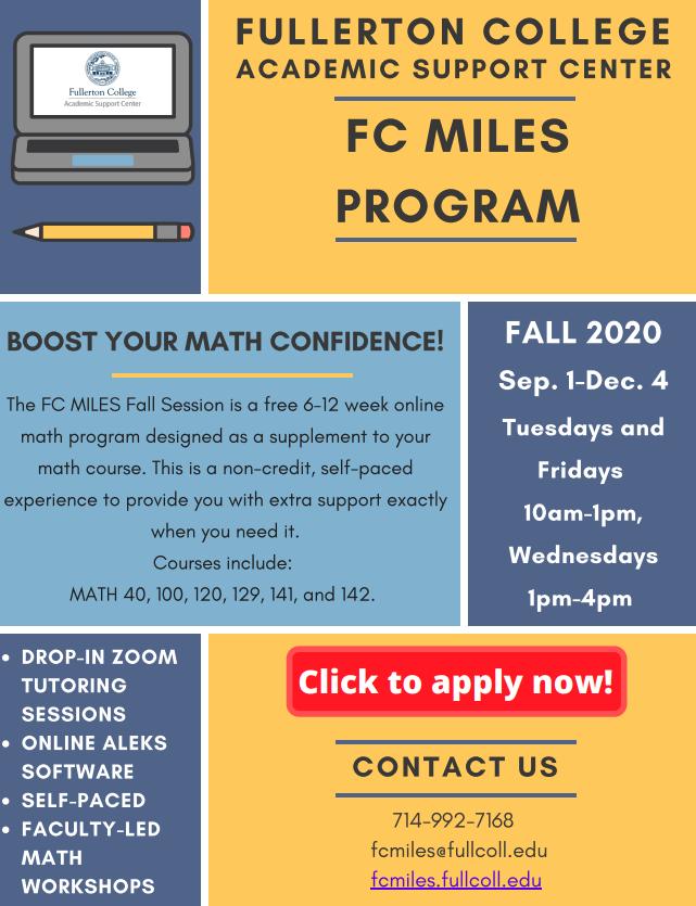 FC Miles PDF flyer